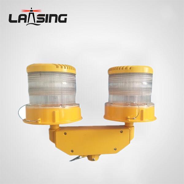 ZG2KD ICAO Dual Red Flashing medium intensity led aviation obstruction light,L-864 Dual medium light