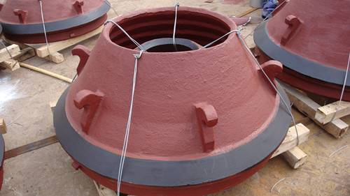bowl liners and mantles for crusher concave for cone crushers