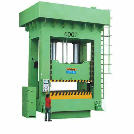 600T Frame Precision Hydraulic Molding Machine for Water Canal