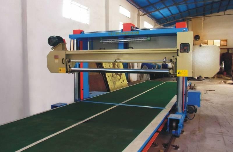 Ortholite Foam Long Sheet Cutting Machine