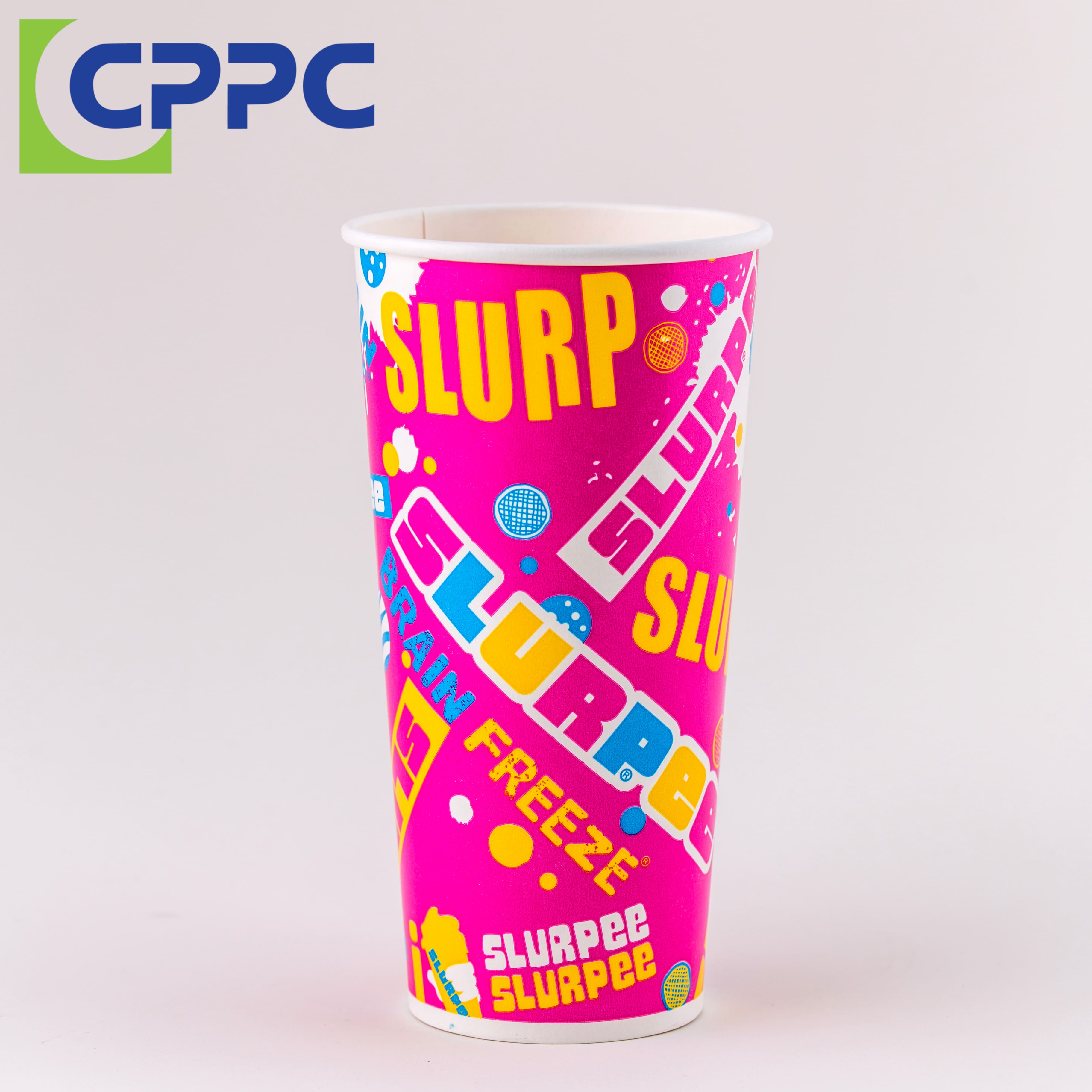 Custom Made Single Wall and Double Wall Paper Cup For Hot and Cold Drink