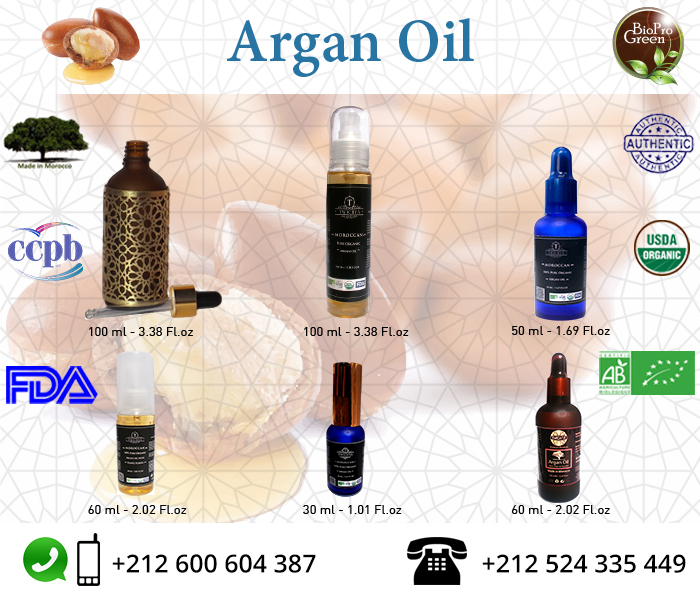 Private Label Organic Argan Oil Wholesale