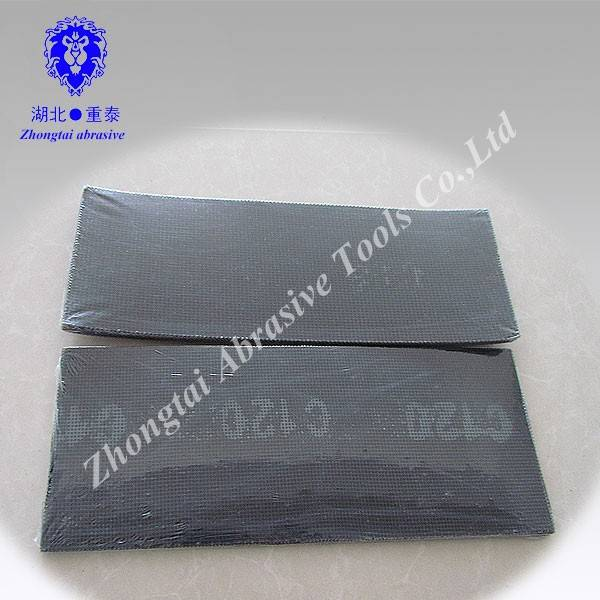 Silicon carbide mesh cloth sheet