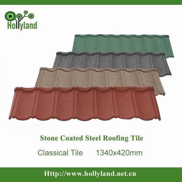 Colorful aluminium roofing tile