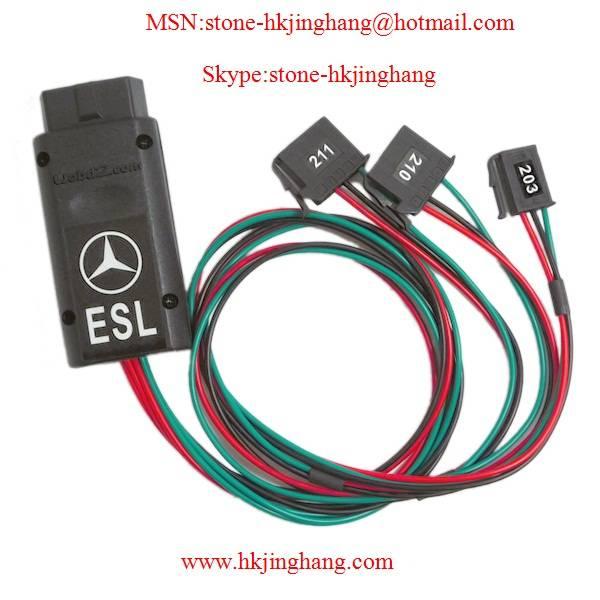 Mercedes-Benz E / C series ESL unlock online