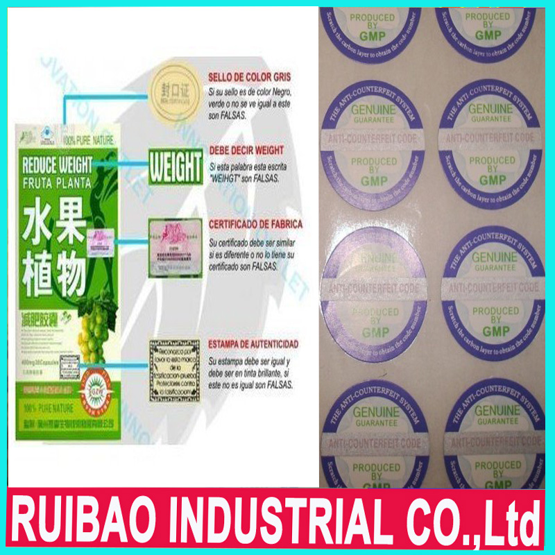 100% pure nature fruta planta reduce weight slimming capsules, factory price