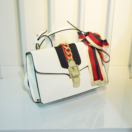 Leather Shoulder Bag PF6458