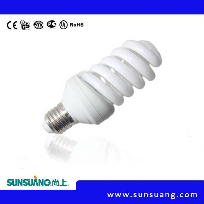 15W T3 Full Spiral Energy Saving Lamp with CE RoHS