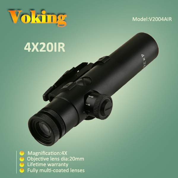 Voking 4X20 IR magnifier scope with your own APP