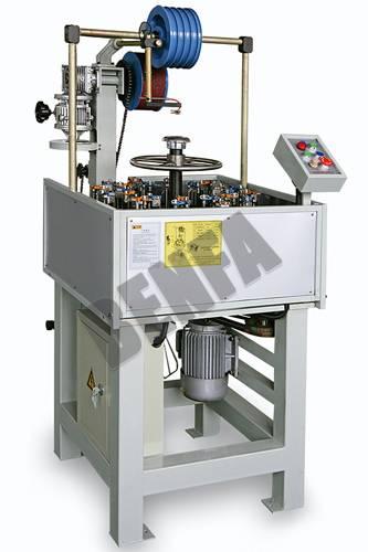 vertical automative hose braiding machine series