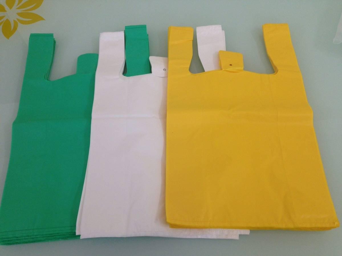 Bolsas camiseta plastic bag manufacturer