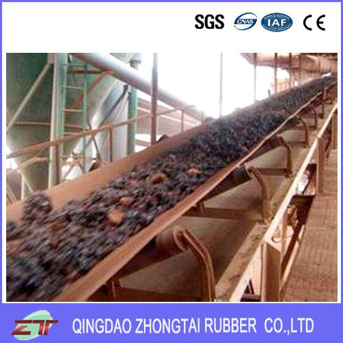 Heat Reesistant Rubber Conveyor Belt From China Manufacturer