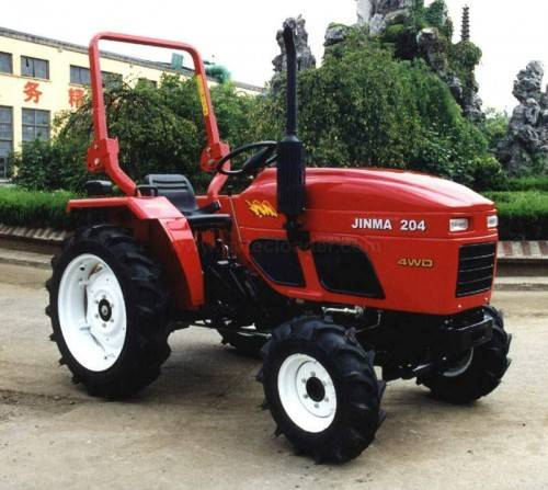 20hp 4WD Jinma 204 tractor for sale