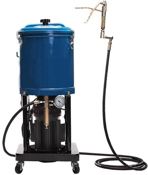 Electric Hight Pressure Grease Pump 15L Motorised Lubrication Dispenser