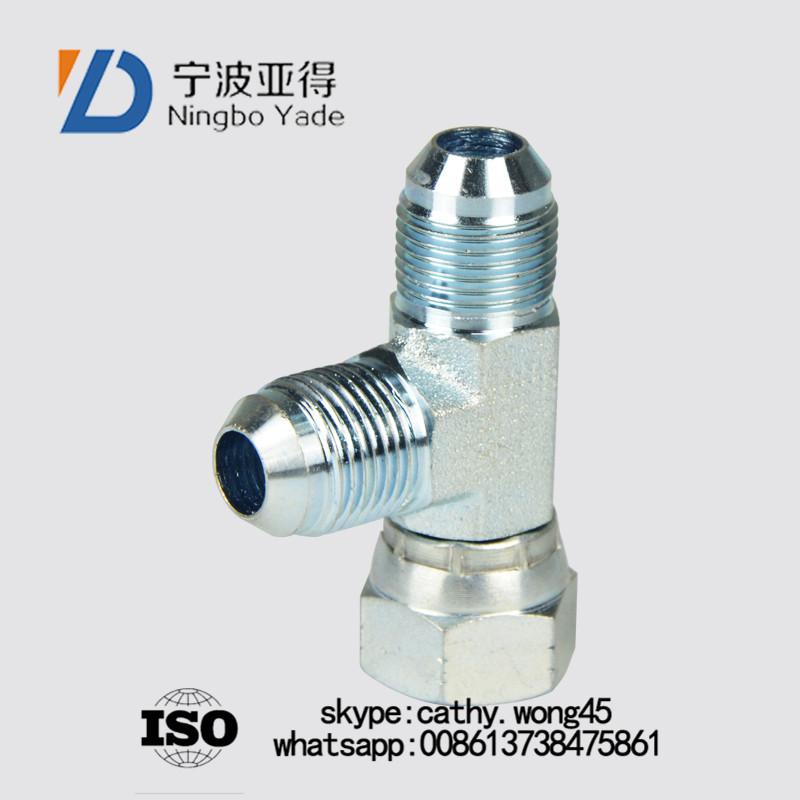 hydraulic hose connector adaptors