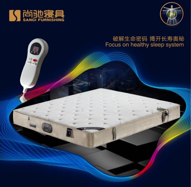 2016 Sanci Newly Developed High Techology Wool Healthy Massage Wellness Mattress for Your Health