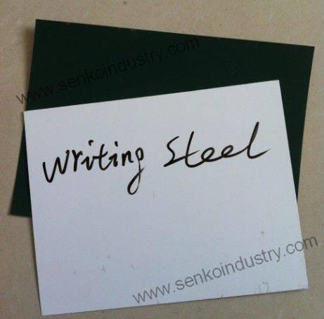 Acrylic Resin Coated Whiteboard Steel