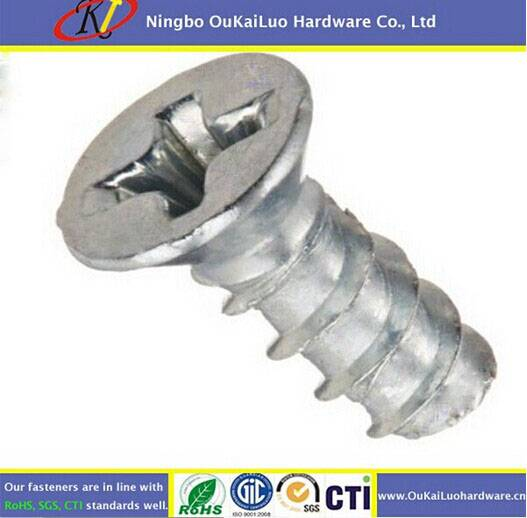 Carbon Steel Phillips Flat Head Trilobular Thread Forming Screws