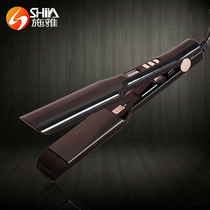 professional PTC private personalized hair straightener hair flat iron with 360 power cord