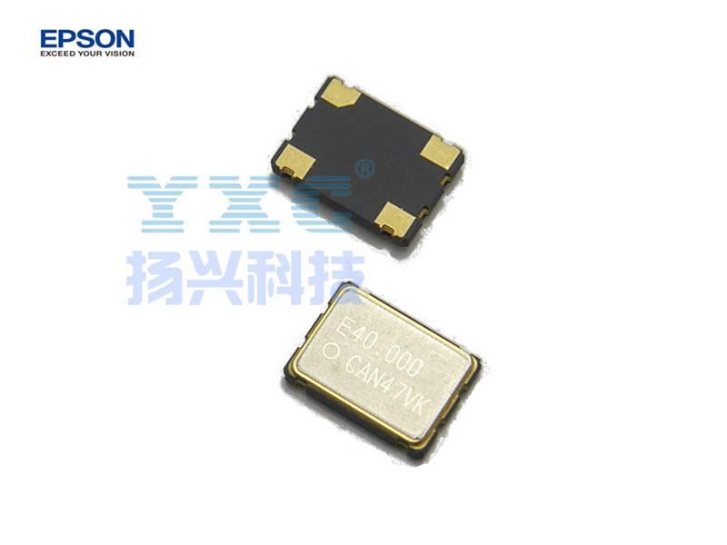 40MHZ 7050 SG7050CAN EPSON 4P 3.3V Quartz Crystal Oscillator 40M 40.000mhz 40.000m 1000pcs in tape m