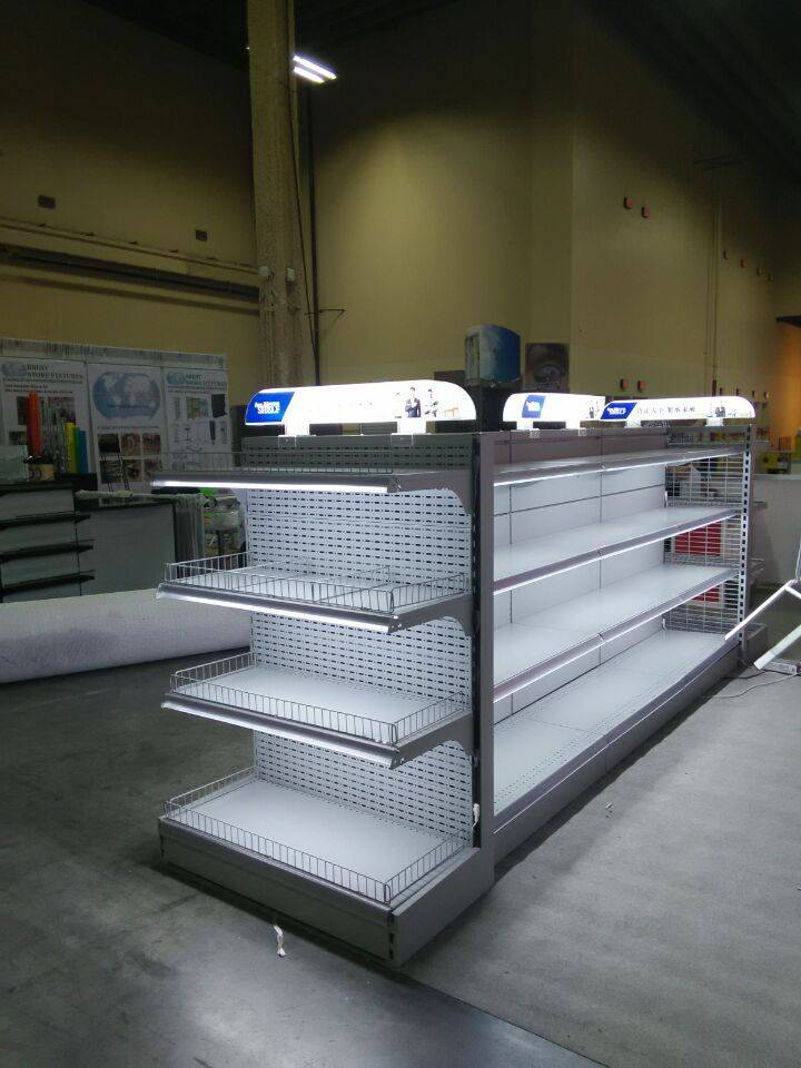 cosmetic shelving with LED