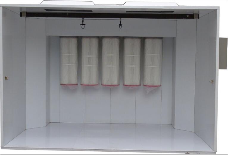 Electrostatic Batch Powder Spray Booth