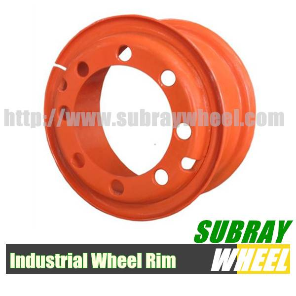 Multi-piece industrial wheels