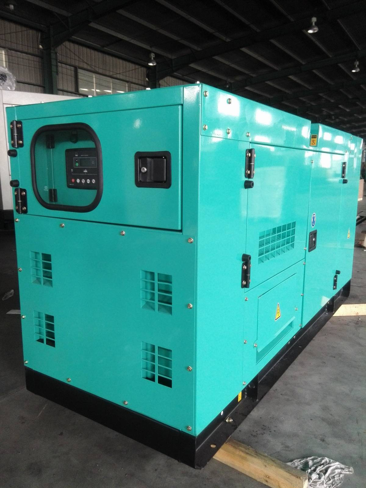 Diesel Generator with Soundproof Wandi Diesel Engine Chinese Brand Alternator 188kVA