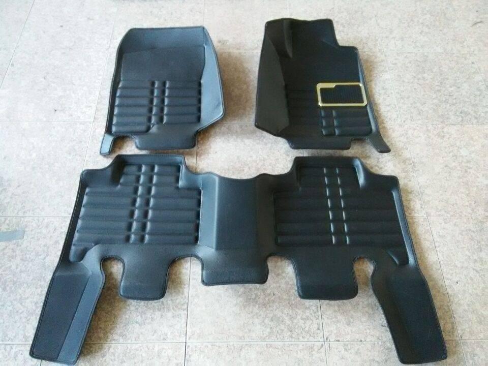 2015 China Factory price 5D car floor mat Vehicle carpet car mat