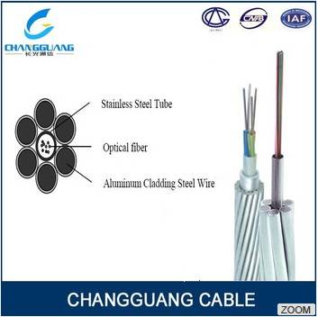 Optical Fiber Cable Composite Overhead Ground Wire Opgw Fiber Optic Cable Stranded Aluminum Clad Sta