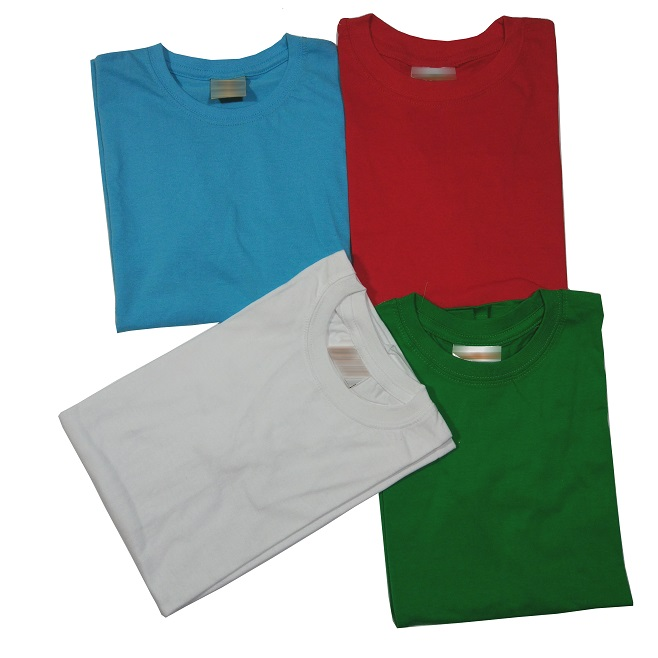 T-Shirts, basic and round neck