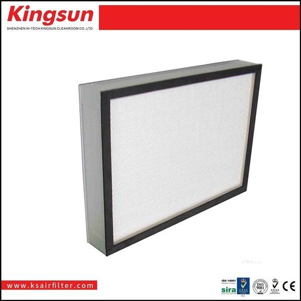 fiberglass h13 deep pleated hepa filter