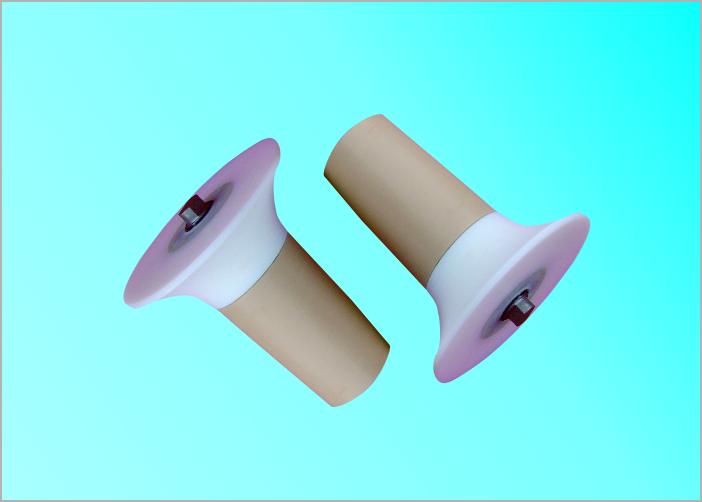 UHMW-PE Cover Self Aligning Roller For Belt Conveyor Abrasion Resistant Side Guide Rollers