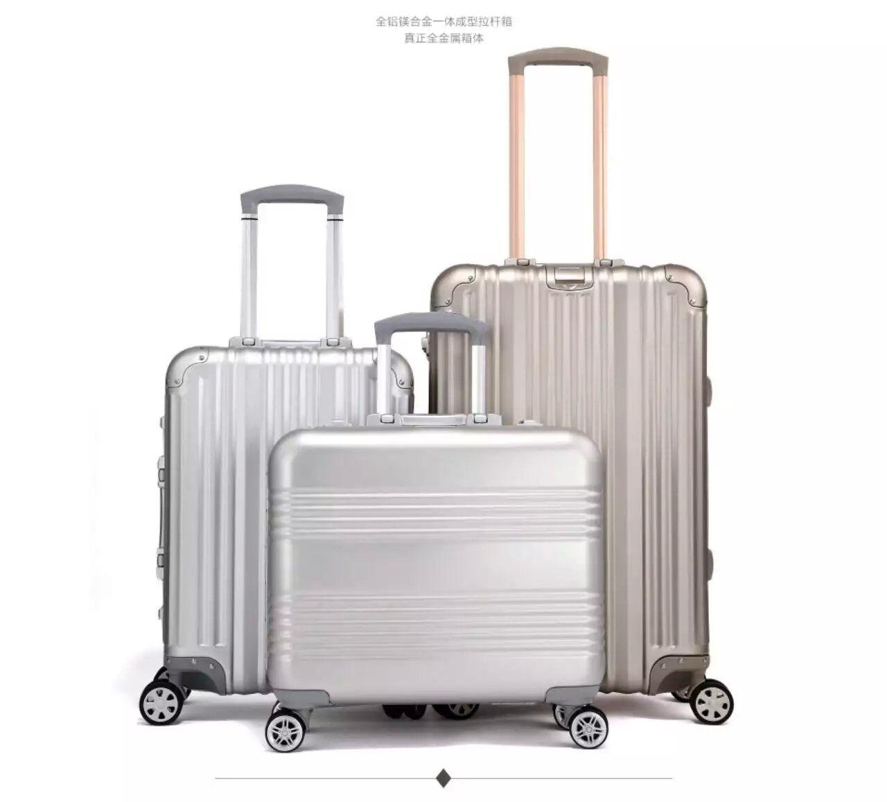 Aluminum Material HITRIP Aluminum Travel Bag Suitcase Case Luggage