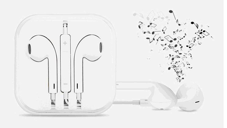 Wholesale hot selling EarPods for iphone