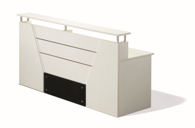 used white modern reception desk,counter table(PG-15Q-20)