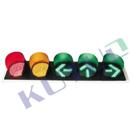 Red&Yellow Ball+Arrow Traffic Signal