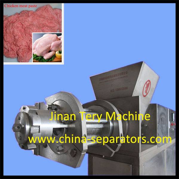 High Capacity frozen butcher meat bone cutter