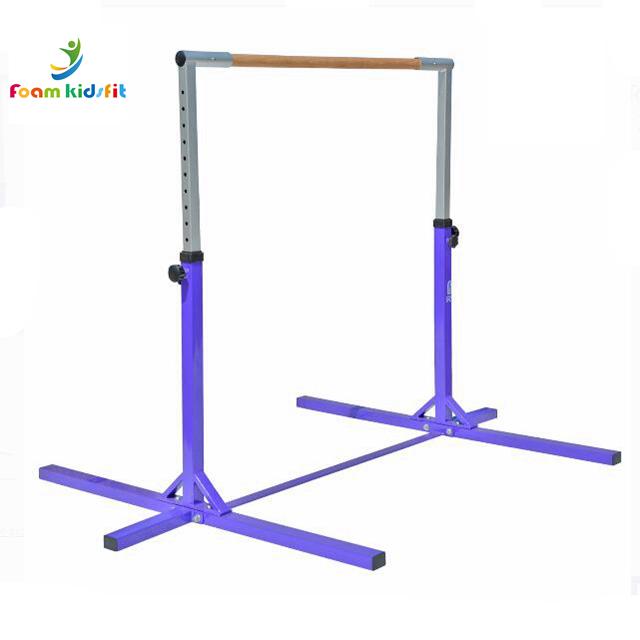 High Quality Adjustable Household kid horizontal bar For Gymnastic Training indoor & outdoor