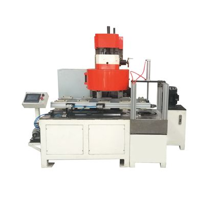 Automatic tin can sealing and beading machine
