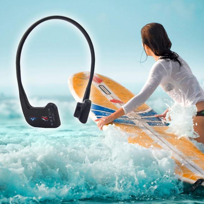 water sport Swimmer coaching radi bone conduction headphone