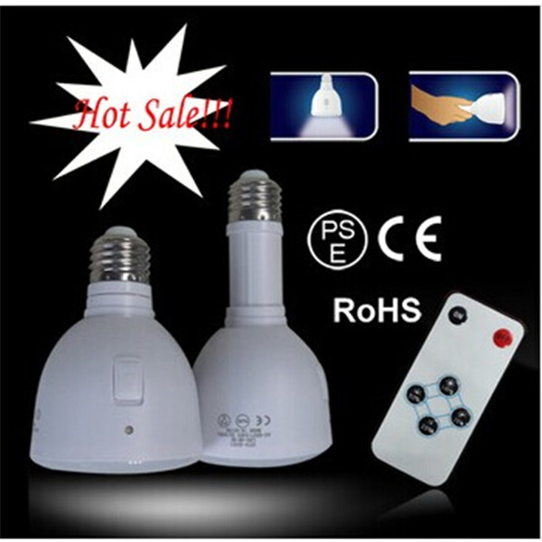 Built-in Rechargeable Battery 5W E26 /E27/B22 LED Intelligent Bulb Light LED Emergency Bulb