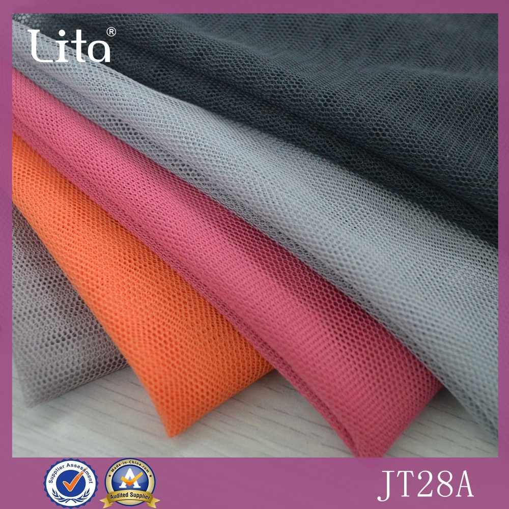 OTM factory price eco-friendly haxgonal polyester mesh fabric