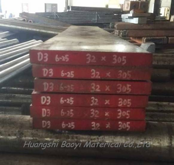 1.2080 Skd1 D3 Cr12 Alloy Tool Steel Bar