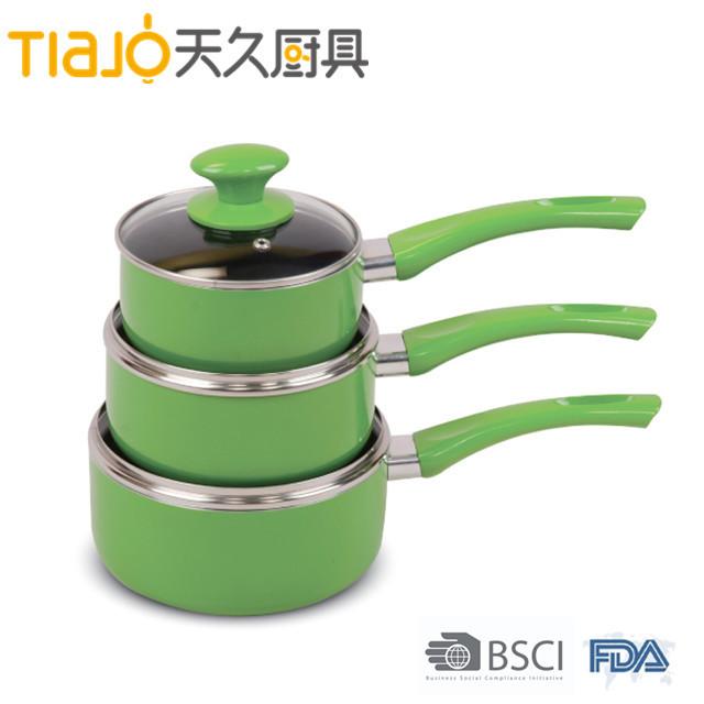 Brand new non stick coating aluminium saucepan with low price
