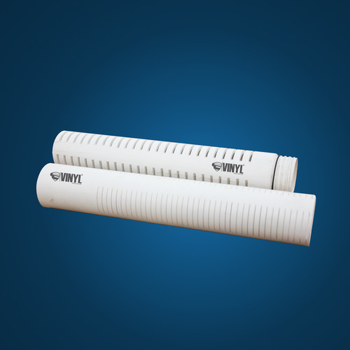 Download Vinyl 14 Inch Upvc Ribbed Screen Pipe Catalog,