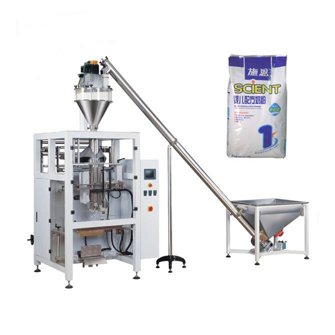 Automatic auger filler powder VFFS packaging line