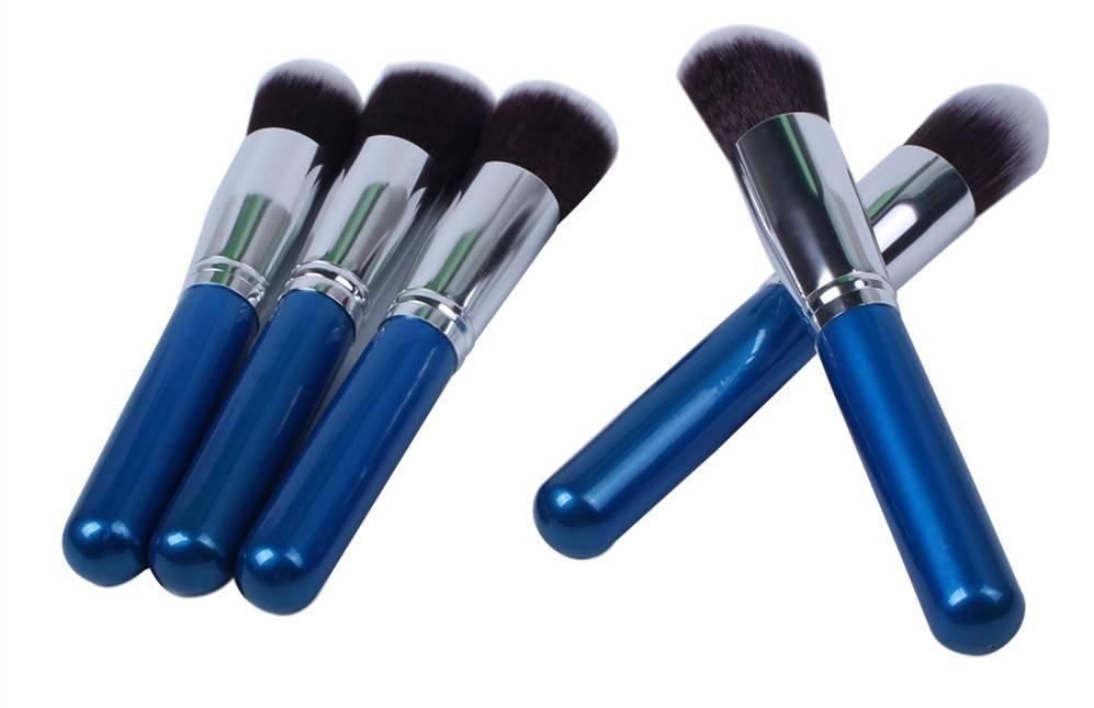 5 pcs fashionable design makeup brush sets