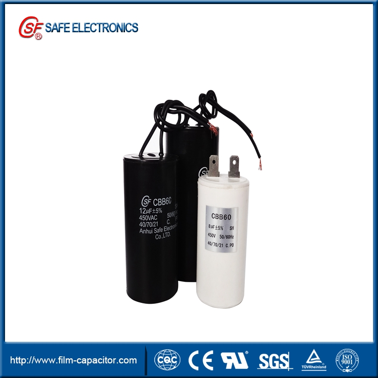 CBB60 water pump capacitor