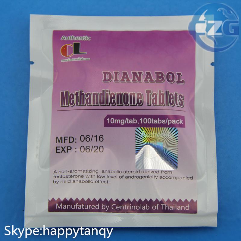 99% Purity Steroids USP Grade Testosterone Dianabol (Methanabol)